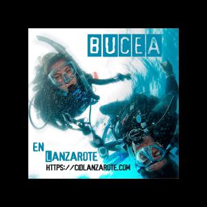 Bucea en Lanzarote